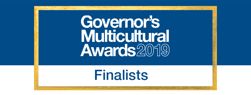 Banner; Governor's Multicultural Awards 2019 Finalists