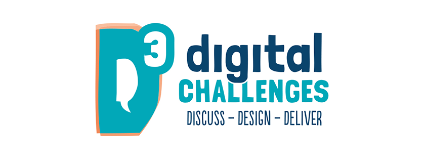 Logo for D3 digital challenge