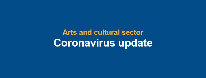 Banner: Coronavirus update