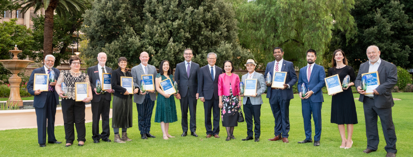 Governor's Multicultural Award winners